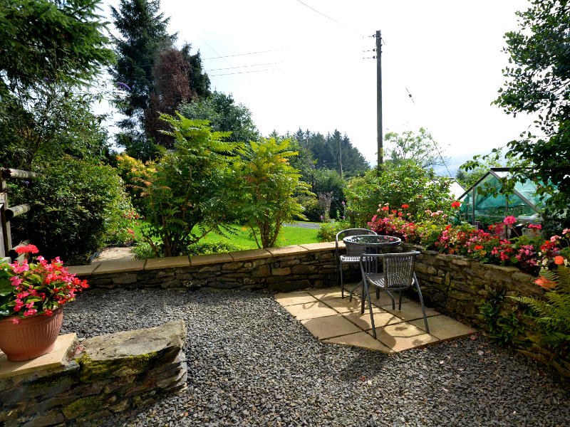 Guest Courtyard at Plas Bwlch Bed and Breakfast